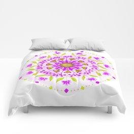 Floral Grove Mandala Comforters