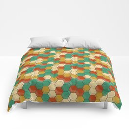 Honey Comb Baroque Hive Comforters