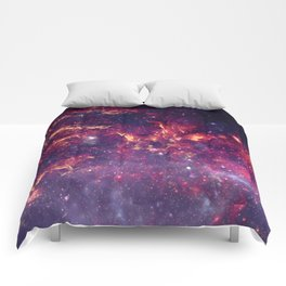 Star Field in Deep Space Comforters