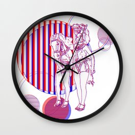 The Showgirls Wall Clock