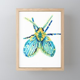 Drain Fly Framed Mini Art Print