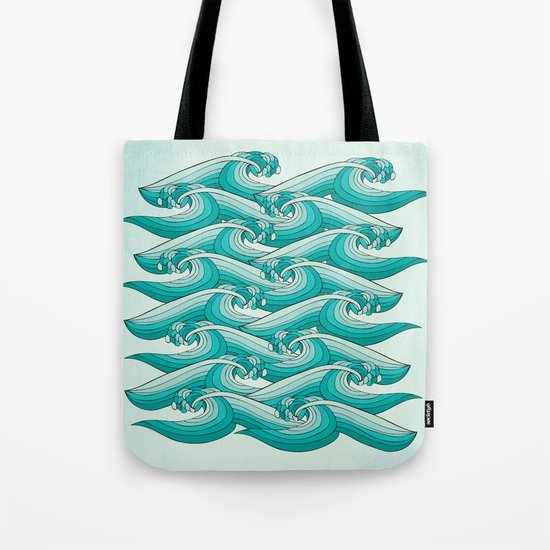Ocean Vibes Tote Bag