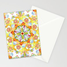 Flower Garden Mandala Stationery Cards