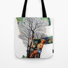 Rape of Aurora | Collage Tote Bag