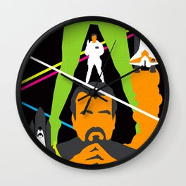 James Bond Golden Era Series :: Moonraker Wall Clock