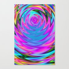 Psychedelic 60s Canvas Print