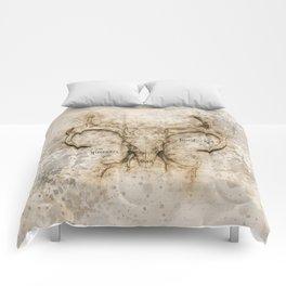 Skulled Oddity Comforters
