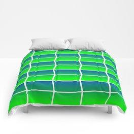 Spring Panes Comforters
