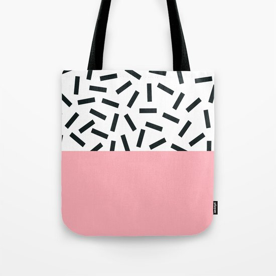 Memphis pattern 20 Tote Bag
