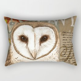 The Barn Owl Journal Rectangular Pillow