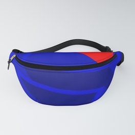 Quaint Game of Chess Letter H Fanny Pack