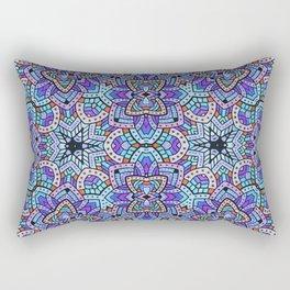 Persian kaleidoscopic Mosaic G509 Rectangular Pillow