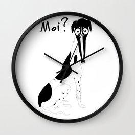Moi (spots) Wall Clock