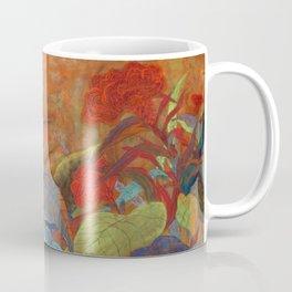flower3【Japanese painting】 Coffee Mug