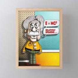 Relatively Einstein Framed Mini Art Print