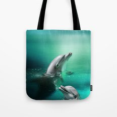 Dolphin Delights Tote Bag
