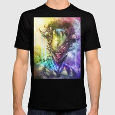 Earth Mens Fitted Tee Black LARGE