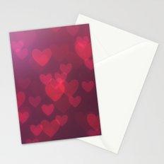 Neon Valentine Stationery Cards