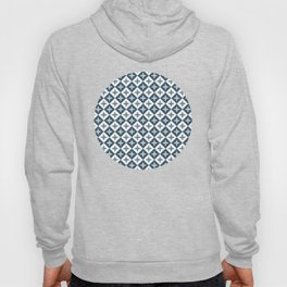Tile pattern - Blue and White Hoody