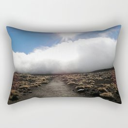 Tongariro Landscape, New Zealand Rectangular Pillow