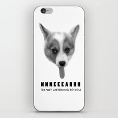 Corgi Meme iPhone & iPod Skin