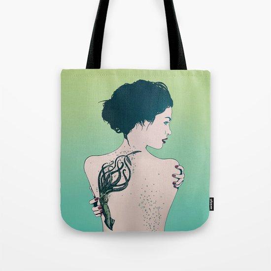 Tattooed Lady Update Tote Bag