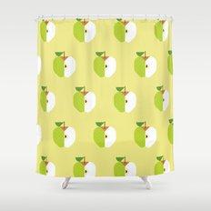 Fruit: Apple Golden Delicious Shower Curtain