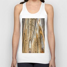 York Minster Cathedral Unisex Tank Top