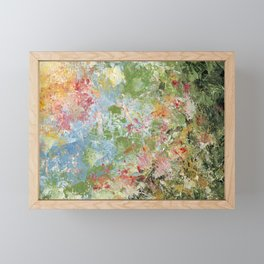Foral Chaos Framed Mini Art Print