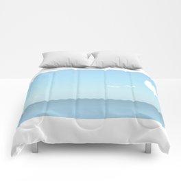 Choppy Waves Comforters