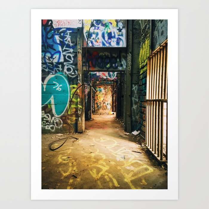 LA Zoo Art Print