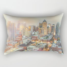 All Those Lights, They Shine For You - New York City Rectangular Pillow
