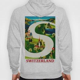 Vintage Switzerland Travel Hoody