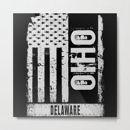 Delaware Ohio Metal Print