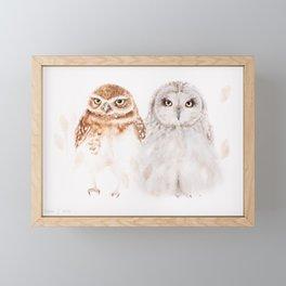 Hugo and... Framed Mini Art Print