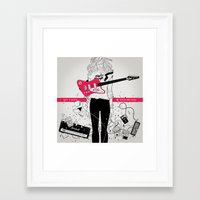 magnani Framed Art Prints featuring PRINT Nº031 by Gianmarco Magnani