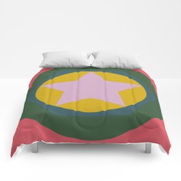 cirlce in star Comforters