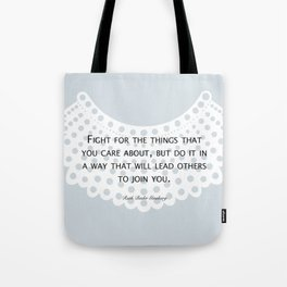 Fight, Lead - RBG (blue) *also in grey Tote Bag