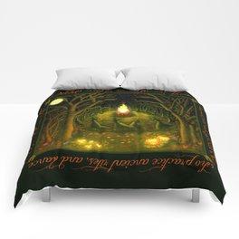 Halloween Bonfire Comforters