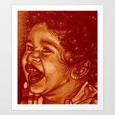 lizandro-red! Art Print
