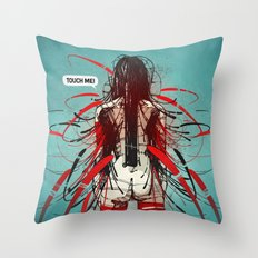 Nymph III: Exclusive Throw Pillow