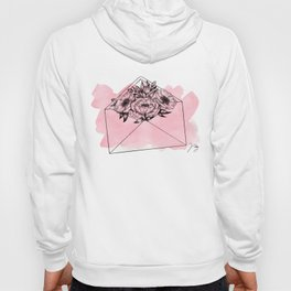 Mailed With Love Pink Hoody