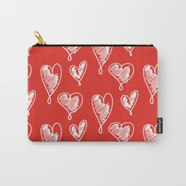friends hearts Carry-All Pouch
