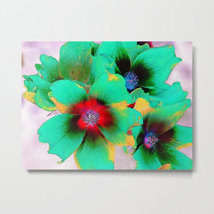 flowers in colors 98 Metal Print