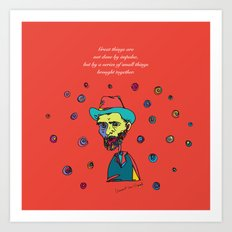 vincent van gogh Art Print