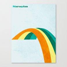 Mariaplan original artwork by Det mekaniska undret Canvas Print