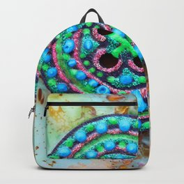 Button for happiness Backpack