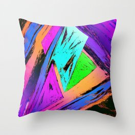 The fast trap Throw Pillow