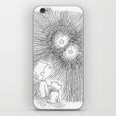 sous les étoiles iPhone & iPod Skin