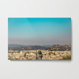 Florence Fossil Metal Print